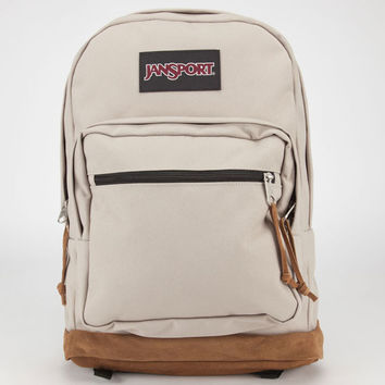 Jansport Right Pack Backpack Desert Beige One Size For Men 23729542601