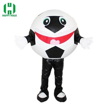 High Quality Carnival Football Mascot Costume Adult Soccer Mascot Suit