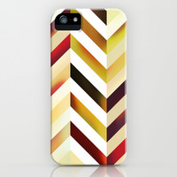 Chevronia XIV iPhone & iPod Case by Rain Carnival