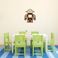 Wall Vinyl Sticker Decal Art Design Toy Robot Kid Baby Nursery Room Nice Picture Decor Hall Wall Chu231