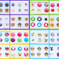 4x Home Button Sticker Packs iPhone/iPad/iPod (24pcs) (4 Sets) Mickey Mouse-Disney-Despicable Me-Hello Kitty-Winnie the Pooh-Donald Duck