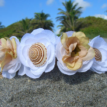 Beach Wedding Crown,Seashell Bridal Crown,Wedding Crown,Hair Crowns,Nautical Wedding,Mermaid Headpiece,Mermaid Crown,Seashell Hair