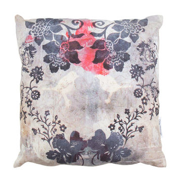 'Floral and Birds' Cushion