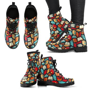 Book Lovers Boots-Clearance