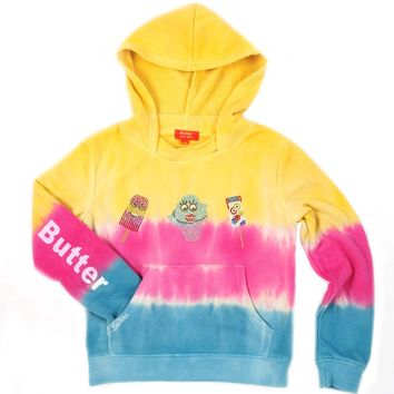 Butter Kids Summertime Ice Cream Triple Dye Pullover