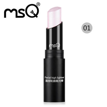 MSQ New Arrival Cosmetic Beauty Tool High Quality Contour Highlighter Stick Makeup in Face Concealer 3 Colors For Choose