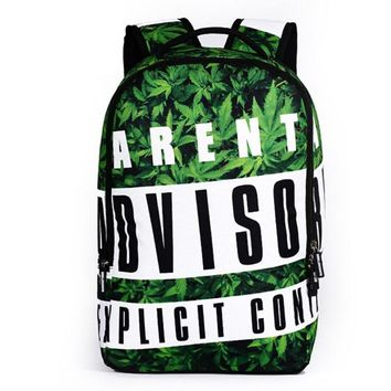 Boys bookbag trendy Children Graffiti School Bags Kids Canvas Schoolbag For Boys Girls Funny Print Backpack Mochila  AT_51_3