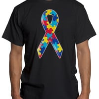 Autism Awareness Ribbon