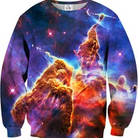 SPACE Printed Unisex Sweatshirt