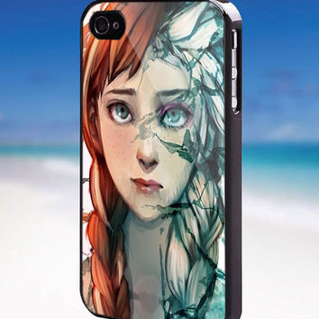 Disney Frozen Princess Elsa And Anna Face - For iPhone, Samsung Galaxy, and iPod. Please choose the option