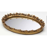 Walmart: Taymor Industries Inc. Antique Oval Resin Mirror Tray