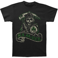 Sons Of Anarchy Men's  Sambel Banner T-shirt Black Rockabilia