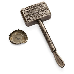 ThinkGeek :: Hammer of Thor Bottle Opener