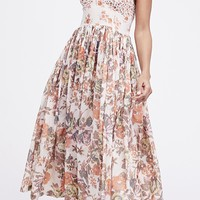 Love You Midi Dress - Ivory by Free People