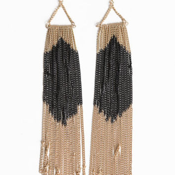 Golden Weekend Earrings - $13.00 : ThreadSence.com, Your Spot For Indie Clothing & Indie Urban Culture