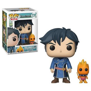 Roland with Higgledy Funko Pop! Games Ni No Kuni II