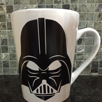 Darth Vader Mug,Darth Vader Coffee Mug,Star Wars Mug,Star Wars Coffee Mug,Star Wars Gift,Darth Vader Gift