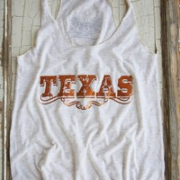 TEXAS FOIL OATMEAL TANK - Junk GYpSy co.