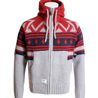 Addict Cardigan Mountain Zip Knit