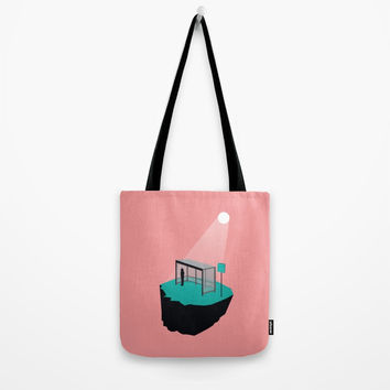 Waiting for a bus that left a long time ago Tote Bag by trash-id