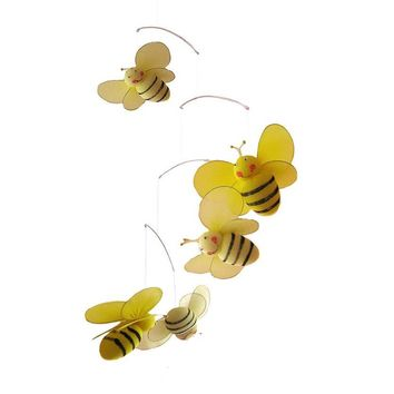 Bailey Bumble Bee Nursery Mobile