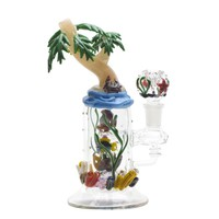 Empire Glassworks Paradise Island Bubbler | Grasscity
