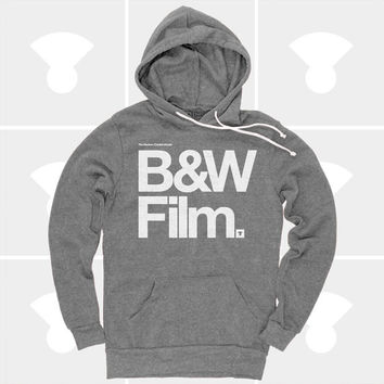 Hoodie: Black & White Film (Women)