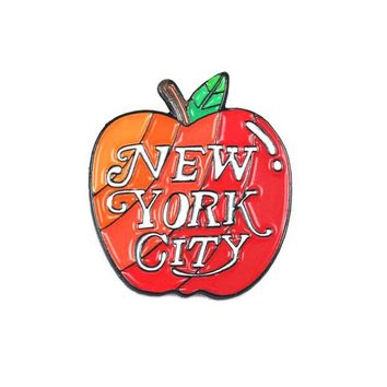 New York City Big Apple Pin