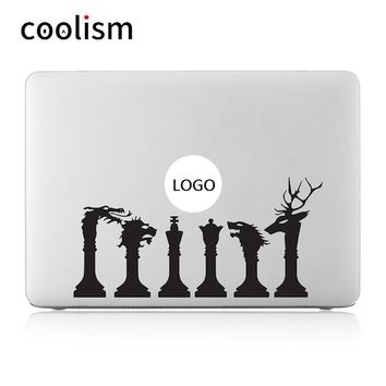 The Game of thrones Vinyl Laptop Decal for Apple MacBook Air 13 Sticker Pro Retina 11 12 15 inch HP Mac Mi Book Case Skin Decals
