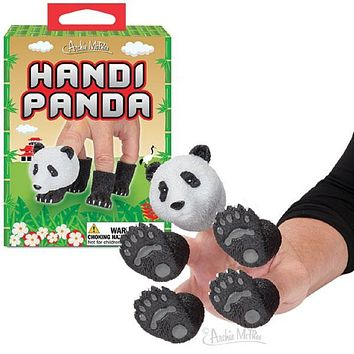 Handipanda Panda Finger Puppet in Black and White