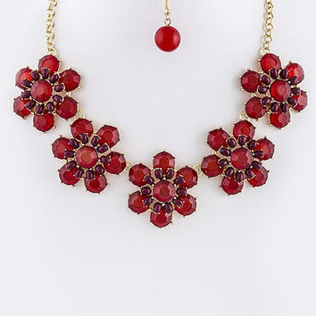 Floral Dome Necklace
