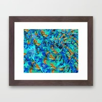 Song Of The Sea - Beach Art - By Sharon Cummings Framed Art Print by Sharon Cummings | Society6