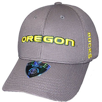 Oregon Ducks NCAA Top of the World Booster Plus Memory Fit Hat