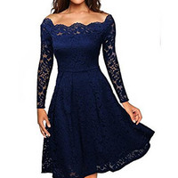Sexy Lace Strapless Dress Prom Cocktail Dress
