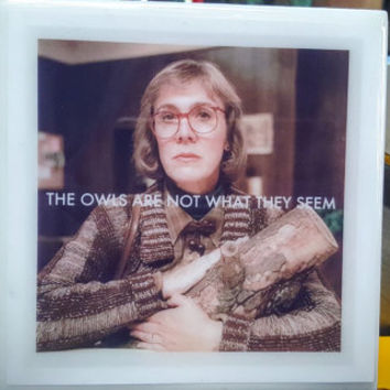 Tile Coasters Twin Peaks Log Lady Special Agent Dale Cooper