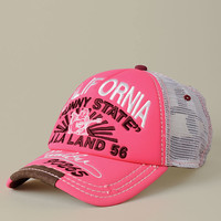 WOMENS NEON TRUCKER CAP  -  Hats Old | True Religion Brand Jeans