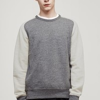 Rag & Bone - Loopback Sweatshirt, Grey
