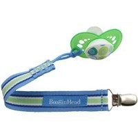 Booginhead PaciGrip Pacifier Holder, Delicate Dot Green (Discontinued by Manufacturer)