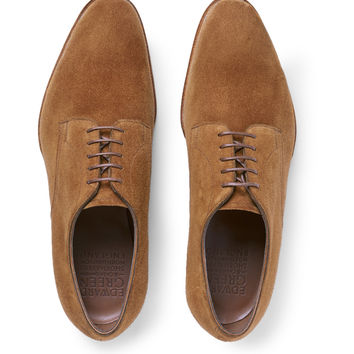 Edward Green - Westbourne Suede Derbies Shoes | MR PORTER