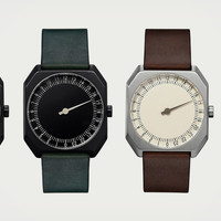 Slow Watches Display All 24 Hours in a Day