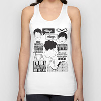 The Fault In Our Stars Collage Unisex Tank Top by Laurenschroer