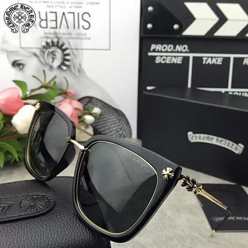 Chrome Hearts Woman Fashion Summer Sun Shades Eyeglasses Glasses Sunglasses