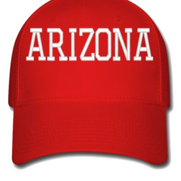 ARIZONA EMBROIDERY HAT  - Flexfit Baseball Cap