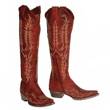 Old Gringo Mayra Bis Boots~ Red
