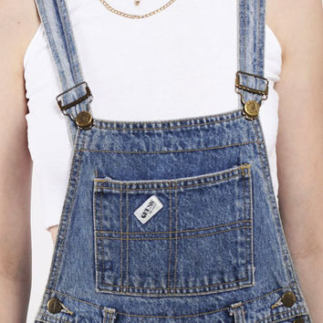 Overalls Vintage GUESS Cotton Denim High Waist 1990s Overall Jean Jumper Size S/M