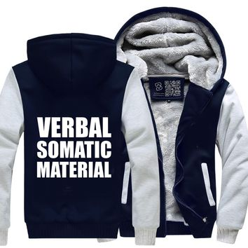 Verbal Somatic Material, Dragon And Dungeon Fleece Jacket