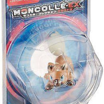 Takara Tomy Pokemon Monster Collection Moncolle EX EMC-05 Rockruff  Figure USA