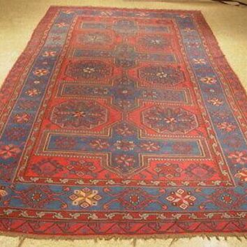 7' x 11' Red Kazak Antique Kilim Flat-Weave Authentic Hand-Knotted Rug