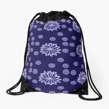 'The Happy Hippy' Drawstring Bag by Carmen Ray Anderson