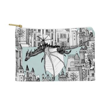 Sharon Turner Dragon Kingdom Winter Toile Pouch
